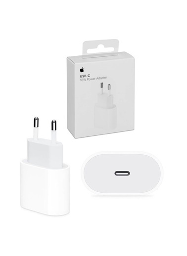 Apple 18W USB-C Power Adapter MU7V2ZM/A Box Beyaz